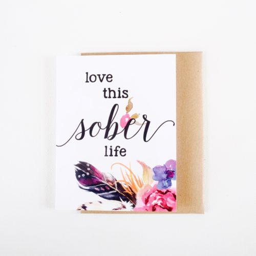 Love this sober life.